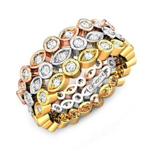 The Besotted Trinity Diamond Ring